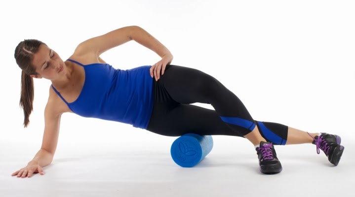 IT band foam roller
