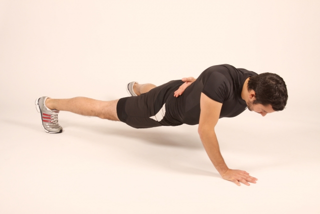 Single-Arm Push Up