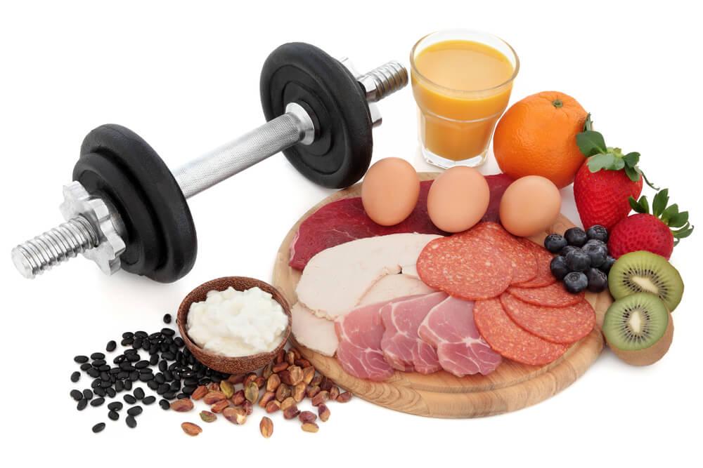 gezonde voeding voor spieren