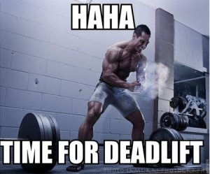 time for deadlift foto
